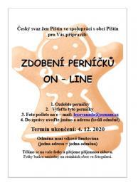 plakát pečení perníčků