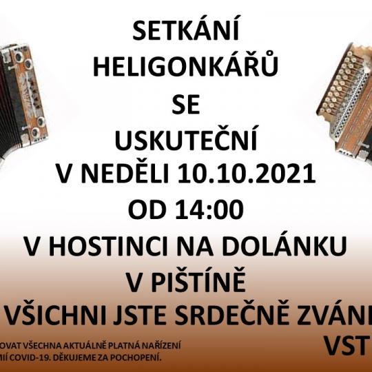 plakát setkání heligonkářů