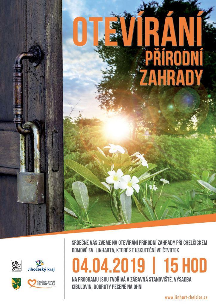 otevírání zahrady